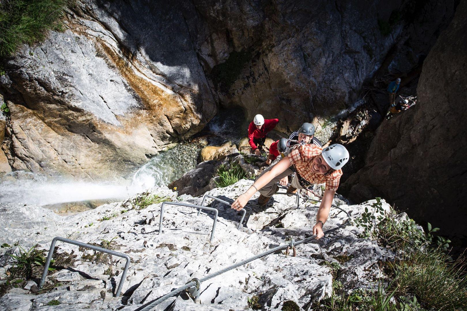 Klettersteig Montafon : Wandern und klettern wanderurlaub im hotel alpenrose montafon